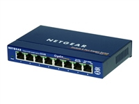 GS108GE, Netgear 8 x 10/100/1000 Ethernet Switch