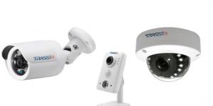 Trassir IP kameras