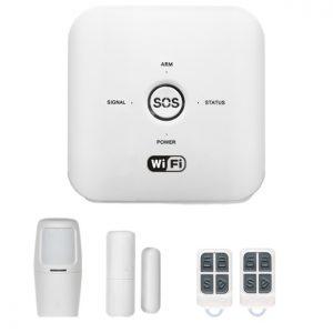 WL-HS-10GDT, Apsardzes signalizācijas komplekts, bezvadu, WiFi + GSM
