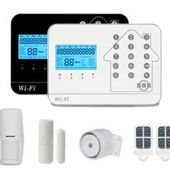 WL-HS-99CSF, Apsardzes signalizācijas komplekts, WiFi + GSM + PSTN